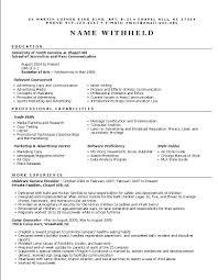 Hybrid Resume Format Resume Samples