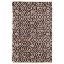 kenwood plum 8 ft x 9 ft double sided area rug