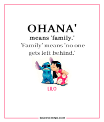 Ohana Means Family Quote Fascinating 48 Cute Lilo And Stitch Quotes About Love Family Big Hive Mind