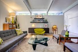 seattle mid century furniture. Seattle Mid Century Modern 2 Living Room Midcentury With Transitional Floor Globes Sloped Ceiling Furniture