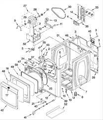 Maytag bravos dryer parts diagram electric model medxxw sears