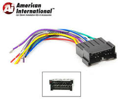 car stereo cd player wiring harness wire aftermarket radio install image is loading car stereo cd player wiring harness wire aftermarket
