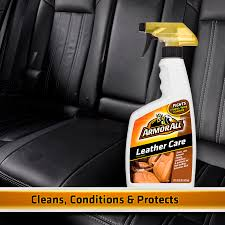 armor all leather care 16 oz car leather cleaner and conditioner com