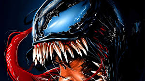 Venom Dark Wallpaper 4k