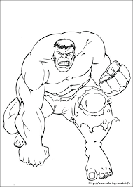 Hulk Coloring Pages Free Printable Incredible Book Pictures To Color