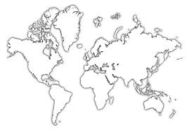 World Map Black And White Printable With Countries World Map With States Pdf New Printable Labeled Outline Countries