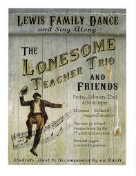 lonesome teacher trio dance