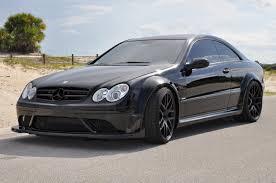 RENNtech upgrades Mercedes CLK 63 Black Series with carbon