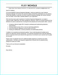 managment cover letter customer relationship management cover letter sample cover letter