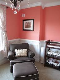Coral Painted Rooms Coral Baby Girl Nursery Best Of Baby Pinterest Girl