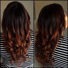 Copper Ombre Looks Really Cute I