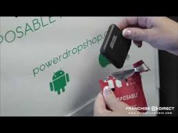 Disposable Phone Charger Vending Machine Mesmerizing The Power Drop Shop Kiosk Opportunity YouTube