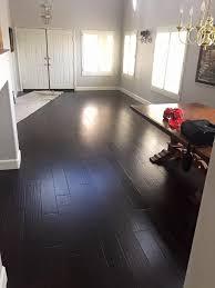 bausen floors midnight hickory wood floors flooring type engineered flooring thk6mn color