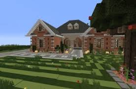 Minecraft House Design   All your house building ideas and designs    Large Suburban House