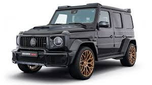 What are the popular second hand car models? Brabus Goes Black And Gold With Mercedes Amg G63