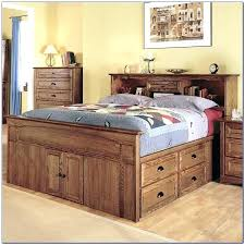 king size captains bed plans diy with drawers