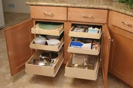 magnificent roll out kitchen drawers 0 wonderful deep organizer made to her with brown storage cabinet