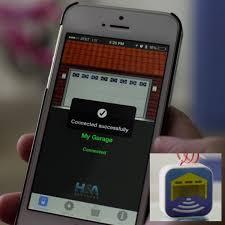iphone garage door openerWe are offering a Smartphone app that can open your garage doors