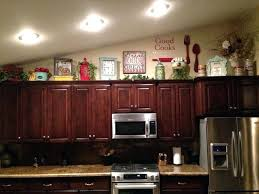 above kitchen cabinets ideas. Kitchen Cabinets Decorating Upper Thrifty Decor Chic Ideas For Above