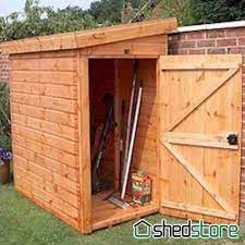 small bike shed wooden garden sheds 6