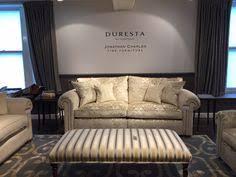 the waldorf sofa in the duresta showroom in harrods luxury living harrods spring summer