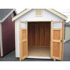 20 ft wood storage shed diy kit