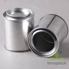 Small Round Wholesale empty paint tin can
