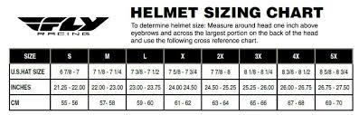German Size Chart Details About 2018 Fly Racing 9mm Half Shell German Style Motorcycle Helmet Pick Size Color
