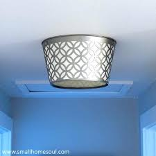 light makeover ceiling light update small home soul blue ceiling light this light replacement blue pendant lights