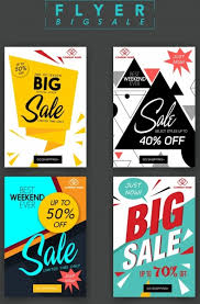 Free For Sale Flyer Template Sale Flyer Templates Modern Geometric Origami Decor Free