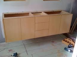 diy floating bathroom vanity. awesome floating vanity plans hanging a finish carpentry contractor talk diy bathroom s