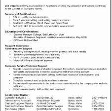 Beginners Resume New Resume Examples Beginners Kolot Co