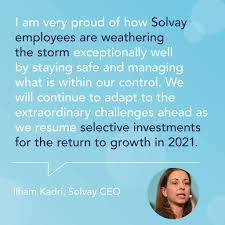 Solvay Group - H1 2020 results are out: kudos to the Solvay teams! We  welcome this outcome considering the unprecedented times we are all facing.  We'll keep working to best position Solvay