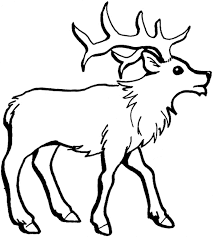 Small Picture fantastic reindeer template printable with reindeer coloring page