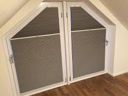 Aufmontage Für Eckfenster Und Rechteckige Senkrechtfenster Plissee