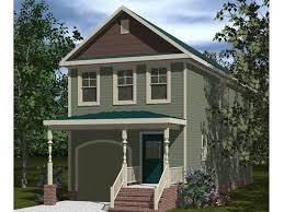 narrow lot house plan 058h 0069