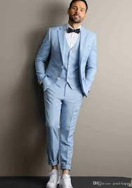 Light Blue Tuxedo Prom Groom Light Blue Suit Bigit Karikaturize Com