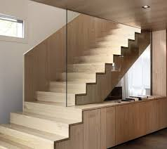 wooden staircase with glass wall of a screen a modern can completely transform your home wood n73 wood