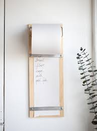 view in gallery plywood memo board