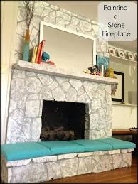 painting stone fireplace ideas painting rock fireplace by best ideas about painted fireplace on fireplace screens