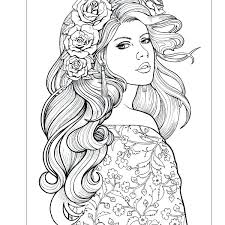 Hair Coloring Pages Color My Fro A Natural Hair Coloring Book For
