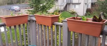 patio railing planters make a great option deck flower boxes41