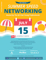 Young Professional Committees 2nd Annual Summer Speed Networking