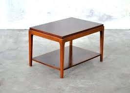 antique small wooden side table w marble top outdoor wood tables modern bedside coffee