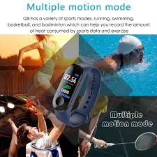 <b>LIGE 2019 New</b> IP67 Waterproof Sport Smart Bracelet Men <b>Women</b> ...