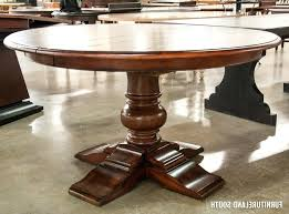 round pedestal kitchen table. Extending Pedestal Dining Table Innovative Expandable Round Expanding With Self Storing Leaves Solid Walnut Kitchen