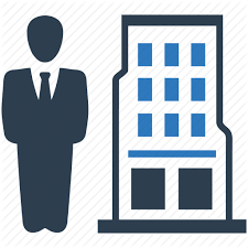 Buiding Manager Building Business Businessman Finance Leader Manager Office Icon