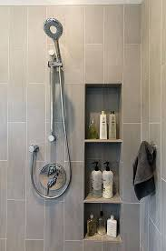 shower wall niche contemporary 3 4 bathroom found on digs what do you think shower wall niche