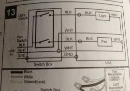 bathroom heater fan light combo wiring bathroom wiring diagrams for a ceiling fan and light kit do it yourself