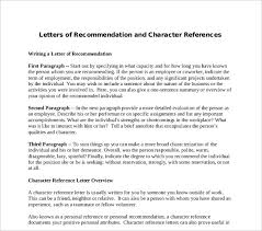 0+ Character Letters Of Recommendation - Pdf, Doc | Free & Premium ...